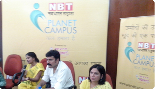 Career Counseling Session with Parents at Delhi University