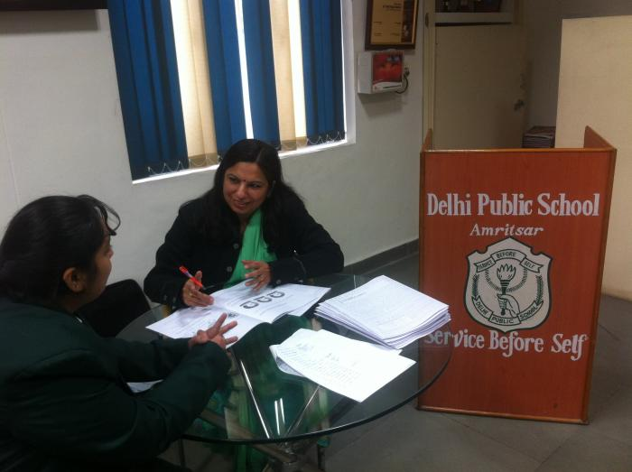 Career Guidance at Sardar Patel Vidyalaya, New Delhi