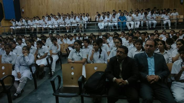 Career counselling session at DPS Dwarka by MapMyTalent