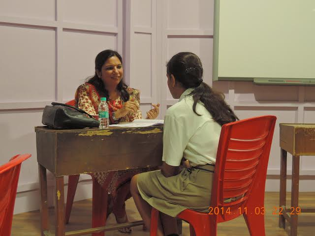 Individual Career Counselling Session at Saupins School, Chandigarh